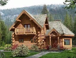 30 photos of log house or wood house style