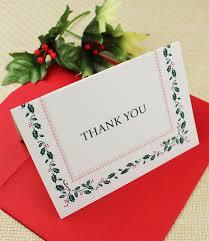 christmas thank you cards christmas thank you card template print