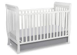 Jamestown Convertible Crib by Amazon Com Delta Children Glenwood 3 In 1 Convertible Sleigh
