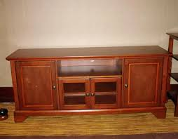 Wooden Cabinet With Glass Doors Wooden Tv Cabinet Upandstunning Club