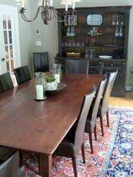 hand crafted classic 10ft farmhouse dining table from reclaimed