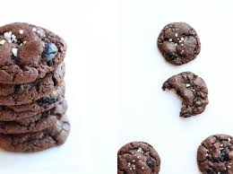 double chocolate maraschino cherry cookies the shared sip