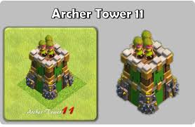 image clash of clans xbow image archertower11 poster png clash of clans wiki fandom