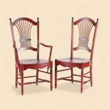sheaf back arm chair foter