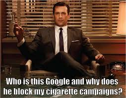 Mad Men Meme - mad men internet marketing style clicks and clients