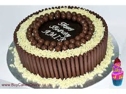 personalised cakes chocoholic personalised chocolate cake