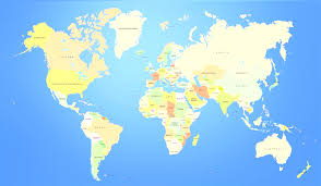 World Map Countries Visited Countries List Simple European Countries In World Map