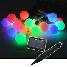 Solar String Outdoor Lights by Triyae Com U003d Solar Outdoor Lights String Various Design
