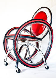 Furniture Recycling by Recycled Bike Furniture By Andy Gregg Design With A Purpose