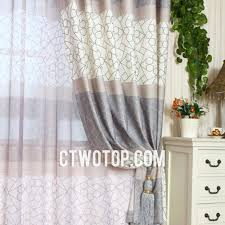 Grey Beige Curtains Beige And Gray Patterned Designer Unique Curtains And Drapes