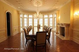 Large Rustic Dining Room Tables by A Large Dining Room In An Open Plan Villa A Long Table And Chairs