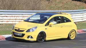 opel germany opel corsa opc nurburgring edition spied on you guessed it the