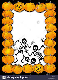 Halloween Skeletons by Skull Bone Halloween Skeleton Pumpkin Frame Skeletons Framework