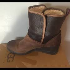 ugg renatta sale 50 ugg shoes ugg renatta waterproof wedge boots size 9 from