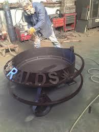 Welded Fire Pit Fire Pits U0026 Custom Metal Signs Hull Welding U0026 Fuel Tanks