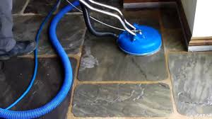Best Way To Clean A Slate Floor by Slate Floor Cleaned And Seal In Warwickshire By Steamgenie