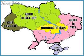 ukraine map ukraine map travelsfinders