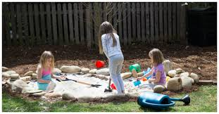 Natural Playground Ideas Backyard How To Make A Natural Children U0027s Sand Pit