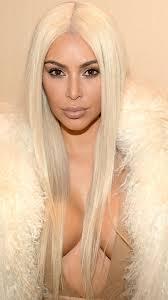 kim kardashian blonde hair kanye madison square garden