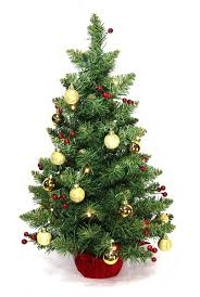 christmas pre decorated christmas trees awesomeicture