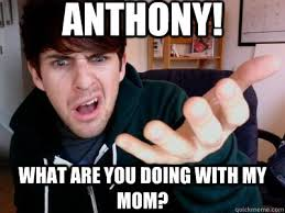anthony what are you doing with my mom smosh quickmeme