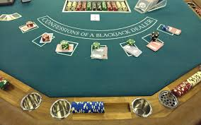 Black Jack Table by Confessions Of A Blackjack Dealer Part Two