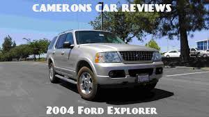 towing capacity 2004 ford explorer 2004 ford explorer limited 4 0 l v6 limited review camerons car