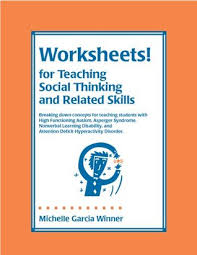 worksheets for teaching social thinking and related skills