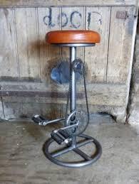 Steampunk Bar Stools Industrial Bike Pedal Bar Stool Vintage Industrial Furniture