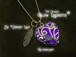 purple heart necklace images Glowies glow jewelry purple heart of winter glowing necklace jpg