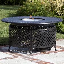 fire sense natural gas patio heater venza 48 inch propane gas fire pit table by fire sense antique