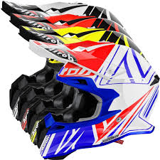 helmet motocross airoh terminator 2 1 cut motocross helmet buy cheap fc moto