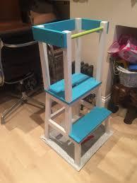 kitchen helper stool ikea learning tower ikea hack детям хелпер pinterest learning