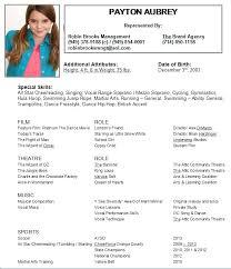 Resume Template For Kids Sample Resume For Kids Babysitter Resume Sample Resume Sample