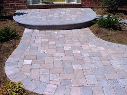 pavers patio interlocking pavers patio designs cover the soil and beautify