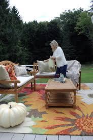 classic fall porch u0026 honey