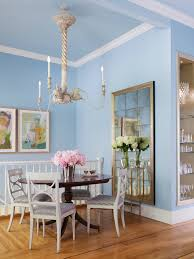 blue dining room home design