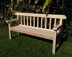 Rustic Outdoor Bench by Handmade Rustic Garden Bench Seat In Eco Friendly Solid