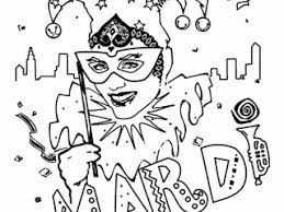 mardi gras coloring sheets printable mardi gras coloring pages to