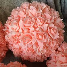 compare prices on peach rose balls online shopping buy low price