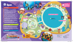 disney epcot map walt disney maps for