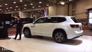 atlas volkswagen black volkswagen atlas r line at dfw auto show youtube
