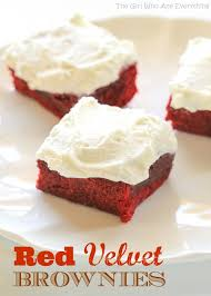 red velvet brownies the who ate everything