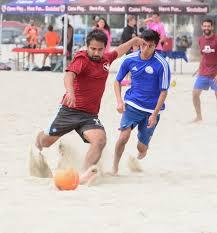 volitude sports beach soccer summer 5v5 coed league long beach