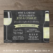 perfect pair invitations chalkboard invites engagement