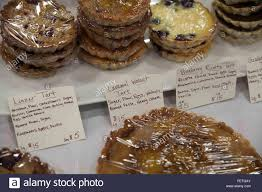 pastry and cookies for sale at an indoor market in williamstown