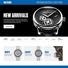 ecommerce and online store landing page design template for