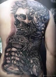 61 phenomenal skeleton tattoos on back