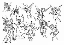 fairies movie coloring page for kids for girls coloring pages