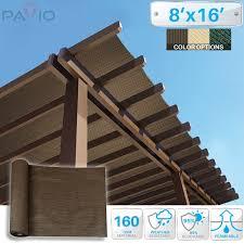 Shade Cloth For Patios by Amazon Com Patio Paradise 8 U0027x16 U0027 Sunblock Shade Cloth Roll
